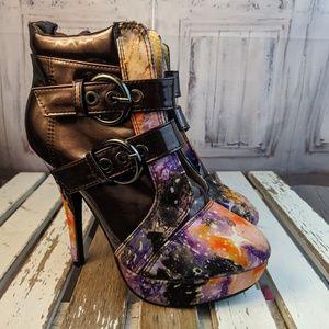 Show Story womens shoes high heels comfort slip